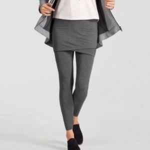 CAbi M'leggings gray skirted leggings